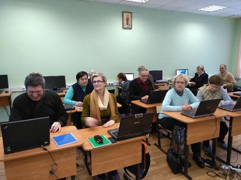 компьютерная грамотность, живоносный источник, московское долголетие
