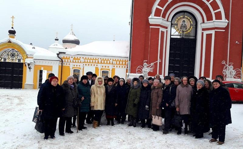 московское долголетие, тцсо орехово, давыдова пустынь, экскурсия, пенсионеры