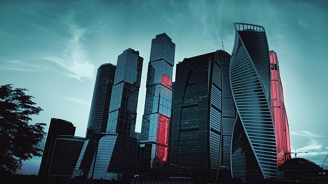 москва-сити, moscow city, пиксабай