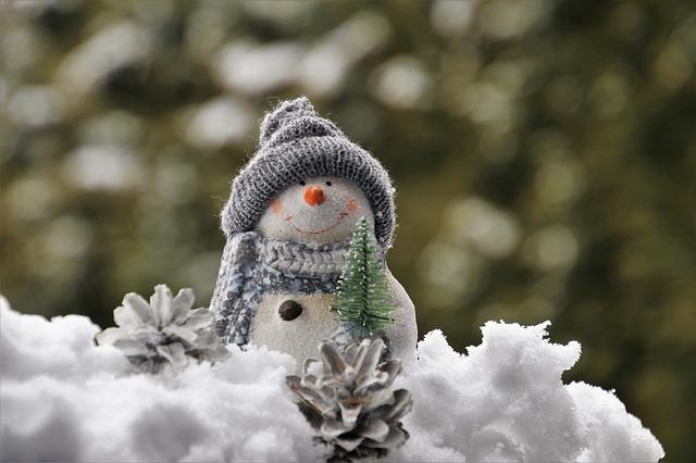 снеговик, зима, новый год, рождество, пиксабай