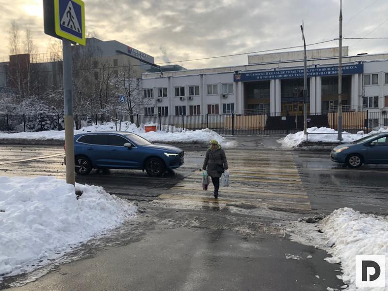 «Мой район», Сергей Собянин в нашем районе, благоустройство, программа, пешеходный переход, 002