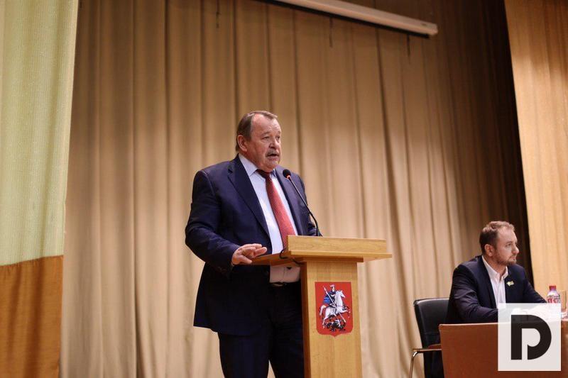 Алексей Челышев, префект ЮАО, встреча 27.02.2019