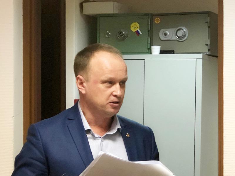 Николай Пронько, главврач детской поликлиники № 12