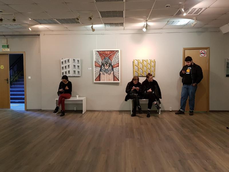 Среда обитания, выставка, галерея крыша (4)
