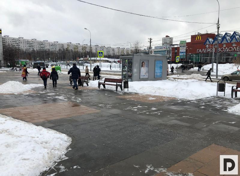 Территория у метро Домодедовская 002