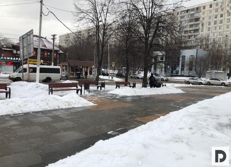 Территория у метро Домодедовская 004