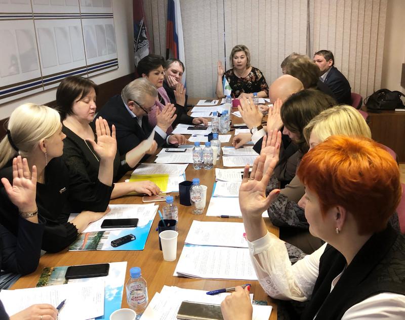 заседание Совета дептутатов Орехова-Борисова Северного от 19 марта