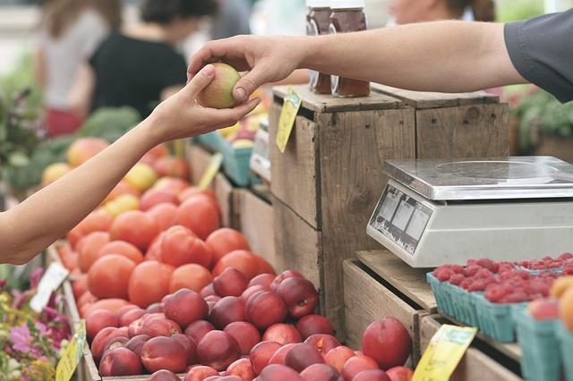 ярмарка выходного дня, торговля, фрукты, пиксабай