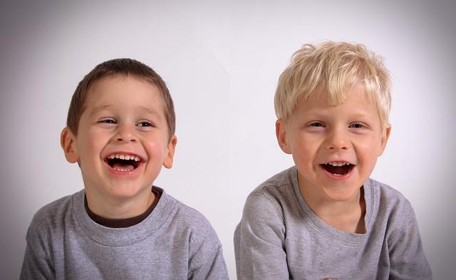 дети, смех, пиксабай