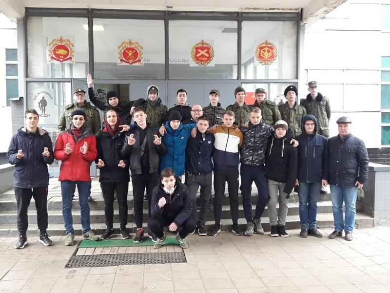 кадеты, школа № 878, учебные военные сборы, Валерия Луканина-Михалева (1)
