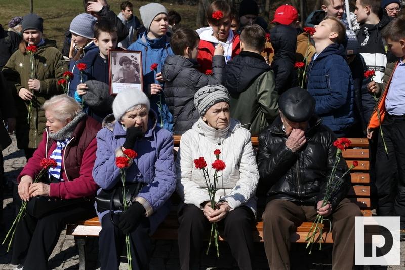 митинг памяти, парк 30-летия победы, ЮАО, 15.04.2019