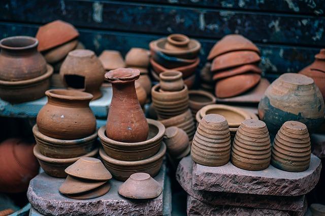 керамика, пиксабай, вазы