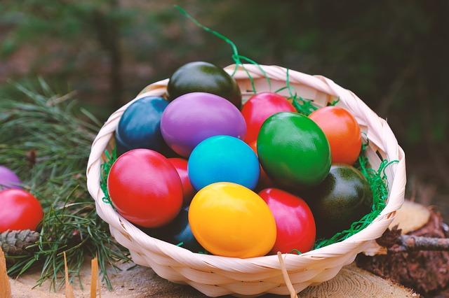 Пасха, Пасхальный дар, яйца, пиксабай
