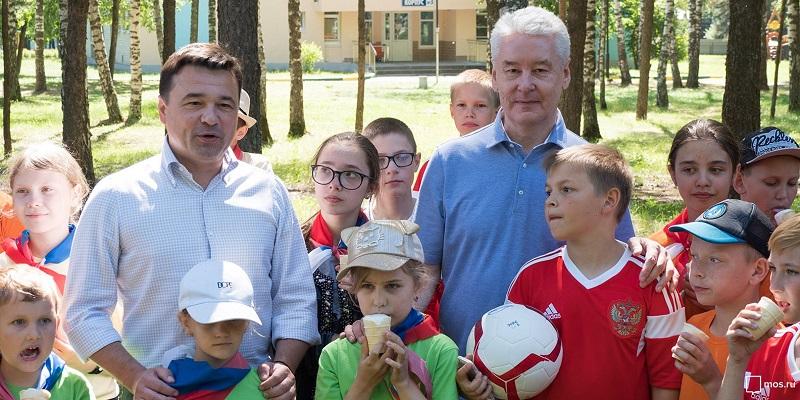 Собянин, Воробьев, Московская смена, детские лагеря, мосру