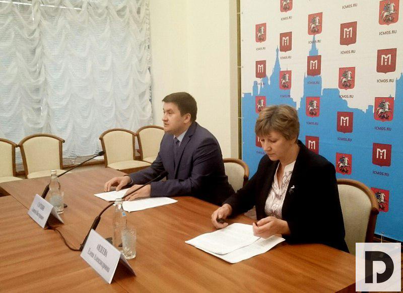 председатель Комитета ветеринарии Москвы Алексей Сауткин, пресс-конференция