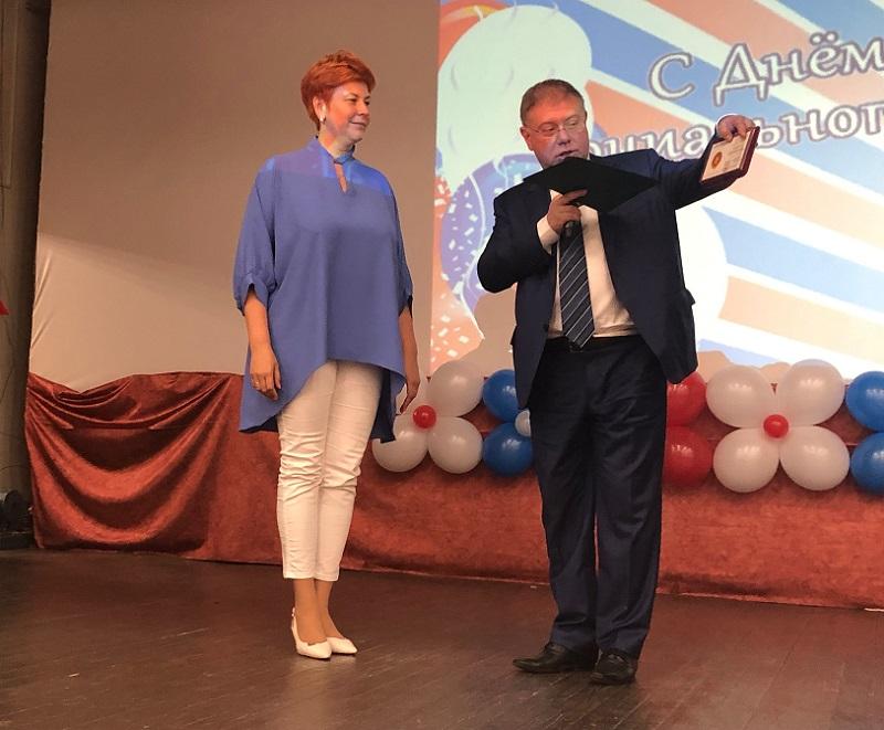 Елена Коннова, Степан Орлов, награждение
