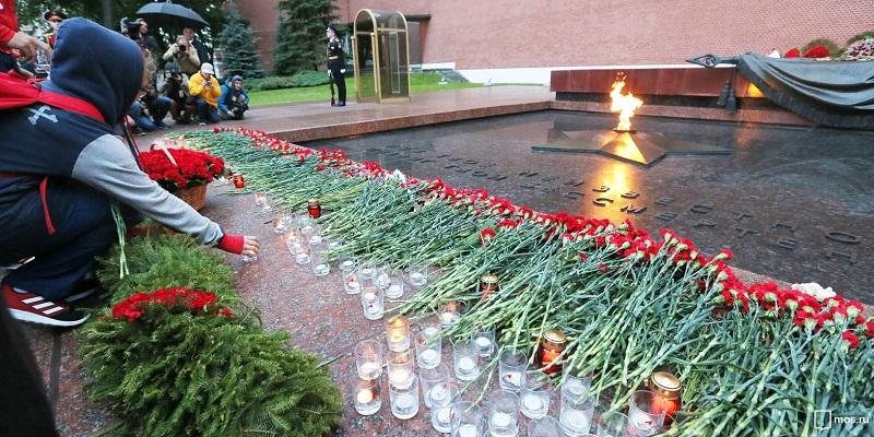 Линия памяти, вахта памяти, вечный огонь, Великая Отечественная война, память