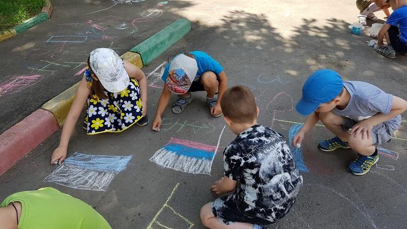 Московская смена, школа №939, дети