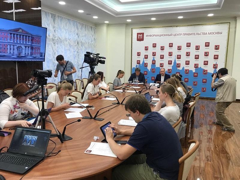 Пресс-конференция, Департамент строительства, Андрей Бочкарев