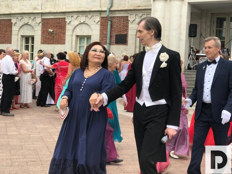 Серебряный бал в Царицыно, Московское долголетие, танцы, ГМЗ Царицыно