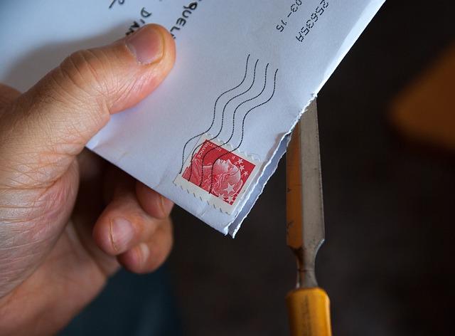 письмо, почта, пиксабай