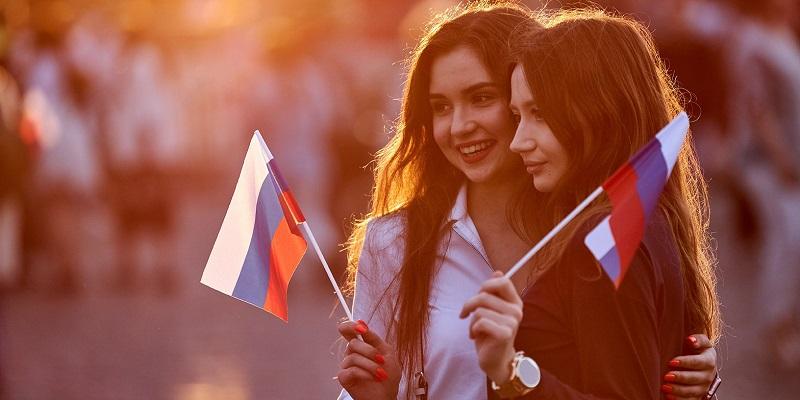 День Государственного флага России, флешмоб, концерт, праздник, флаг, оркестр