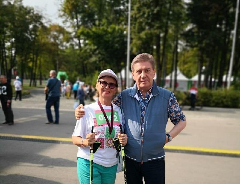 Татьяна Карасева, Московское долголетие, скандинавская ходьба, спорт, концерт