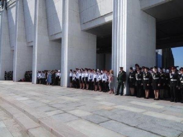 кадетский класс, школа № 878, Поклонная гора, День города