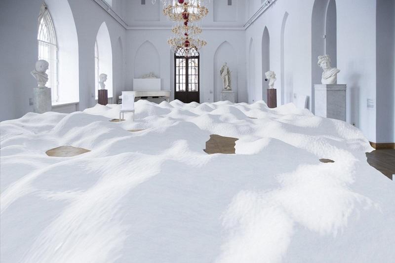 Политика снега, ГМЗ Царицыно, круглый стол, современное искусство
