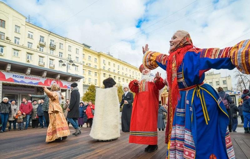Московские сезоны, День народного единства, дети, концерт, Ореховый бульвар, музыка