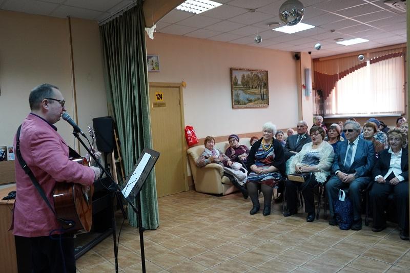 Юрий Былинкин, ТЦСО Орехово, годовщина, концерт, музыка