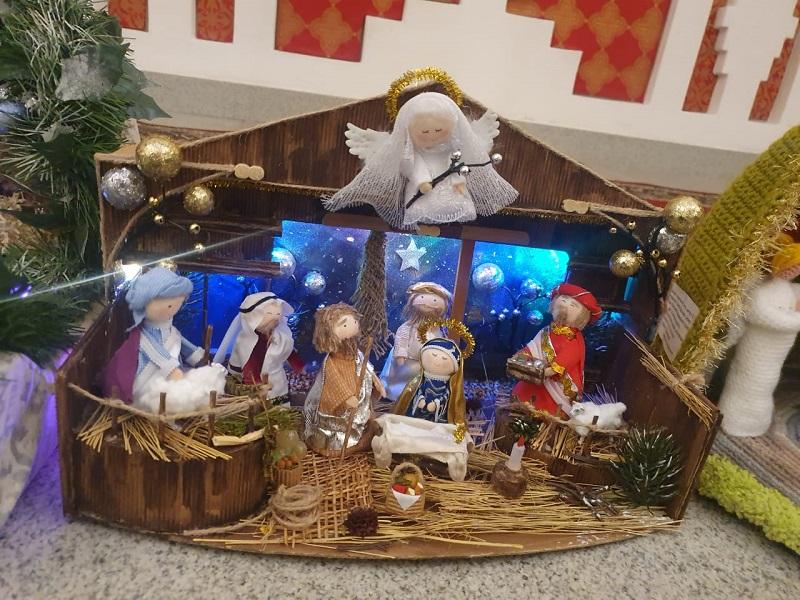 Рождественский вертеп, школа № 996, конкурс