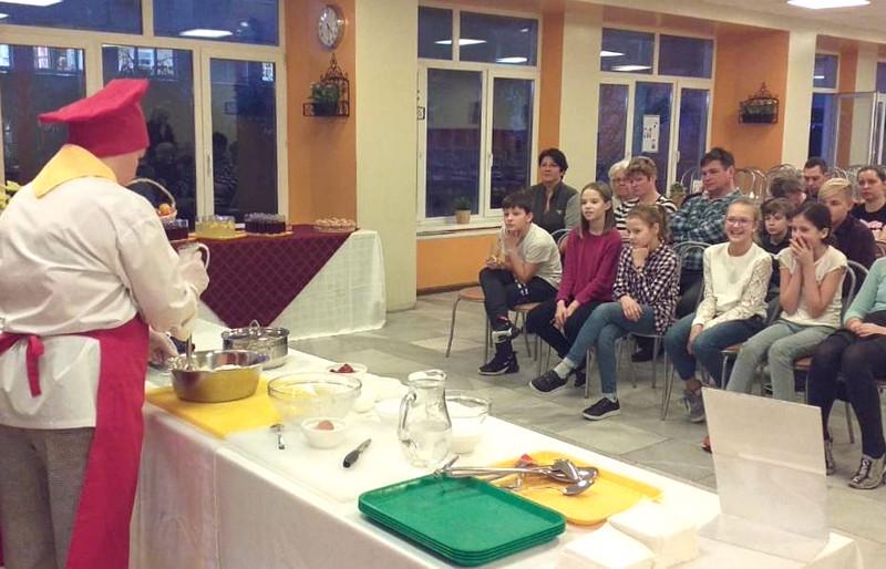 мастер-класс по запеканке школа 548 повар и дети