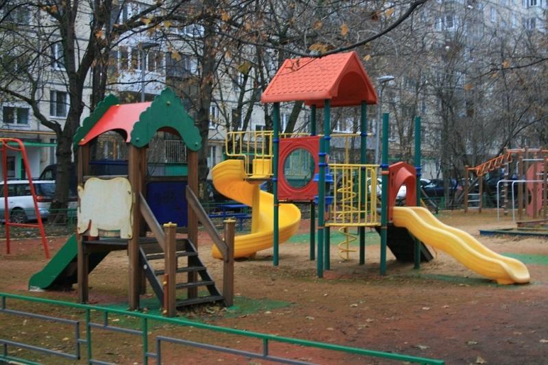 Площадка в районе Орехово-Борисово Северное, детская площадка, активный гражданин, благоустройство