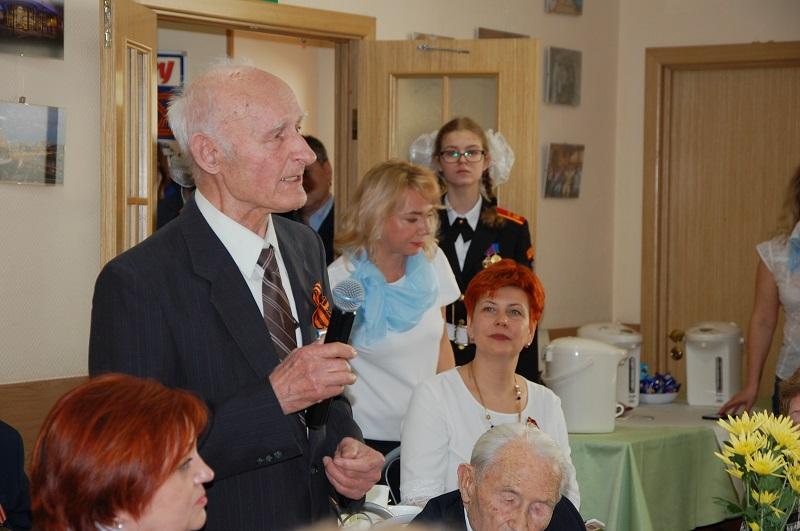 Вручение медалей ветеранам, префект ЮАО, Алексей Челышев