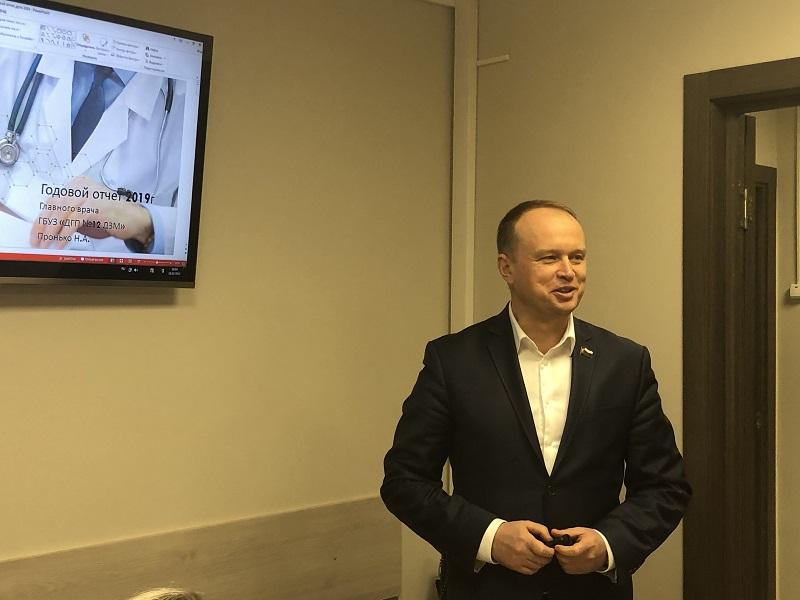 Николай Пронько, поликлиника № 12, ремонт