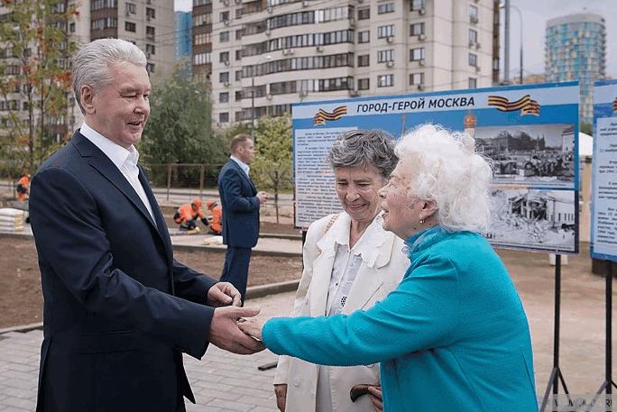карантин, пенсионеры, Сергей Собянин
