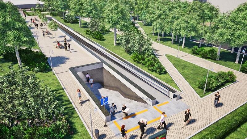 Подземный пешеходный переход, парк царицыно, проект, общественные обсуждения