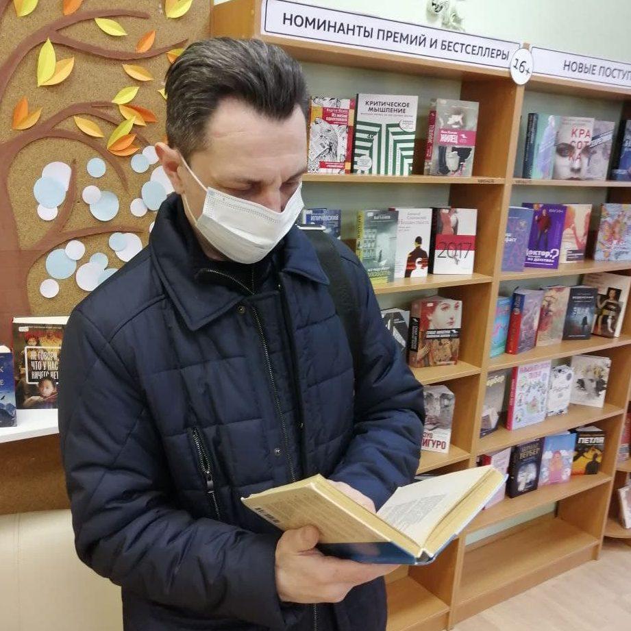 Акция по спонтанному чтению стихотворений прошла в библиотеке №146. Фото предоставили сотрудники библиотеки №146